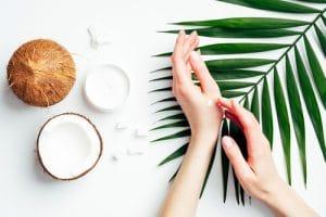 Coconut oil, Anti aging Method