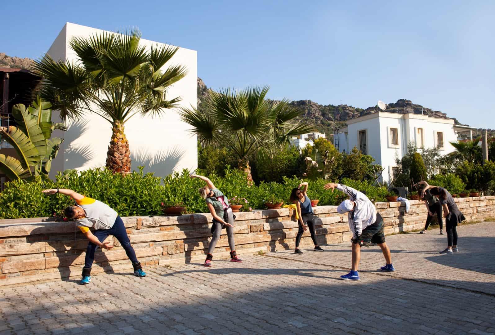 TheLifeCo outdoor exercise photo