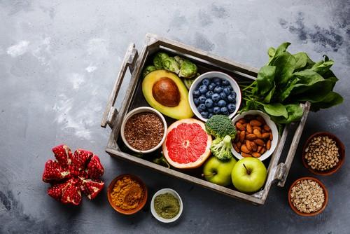 antioxidant vegan food