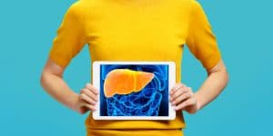 enlarged liver and liver health