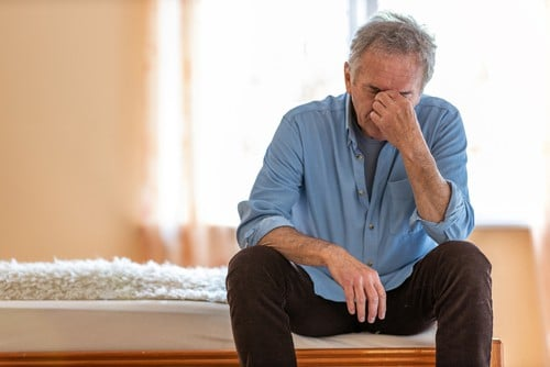 Man with Non-Alcoholic Fatty Liver Disease