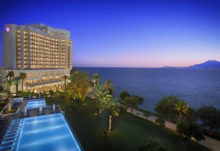 The LifeCo Akra Antalya Night View