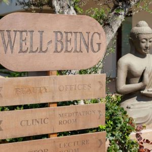 The LifeCo Bodrum Wellbeing Entrance