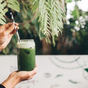عصير أخضر